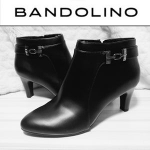 Bandolini Black ankle Boots sz 8 NEW